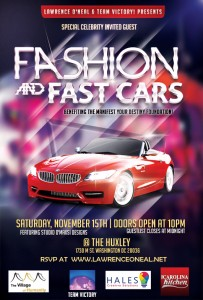 Fashion and Fast Cars